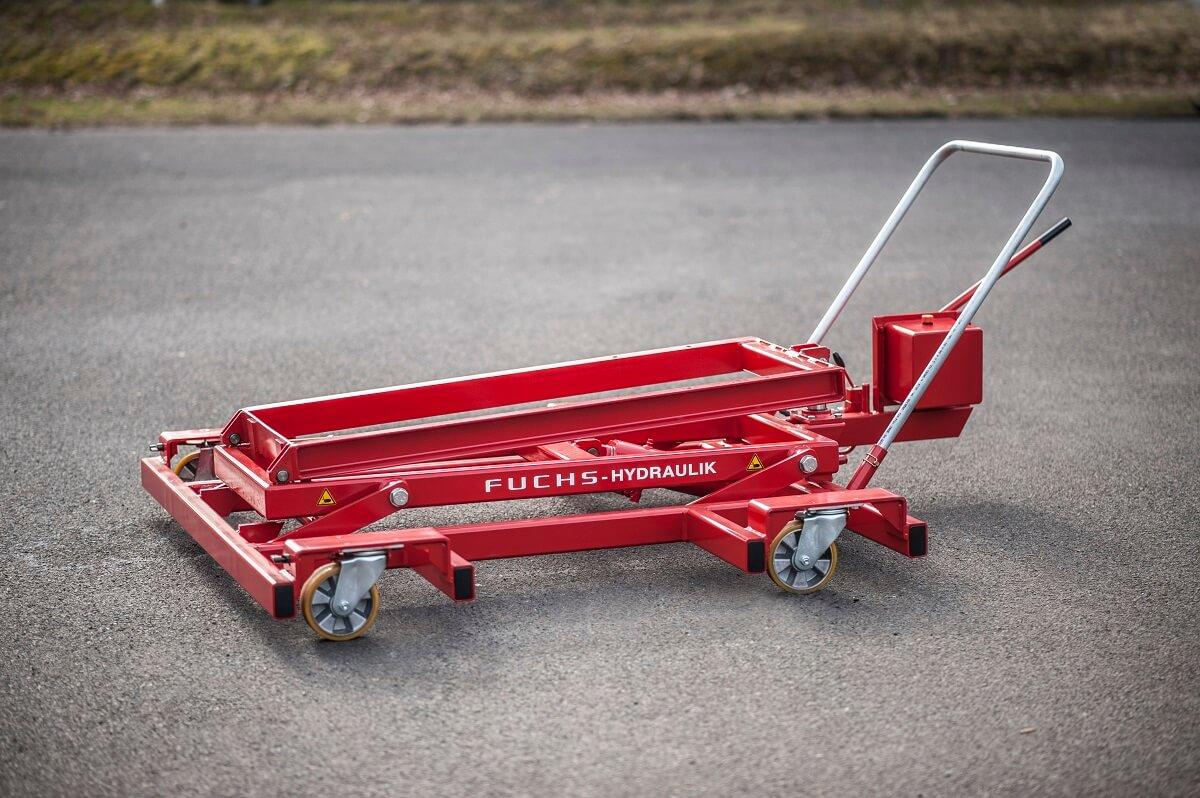 Der PHW 25000 ist flach ausgelegt und besticht mit einer Tragkraft von 2500kg.