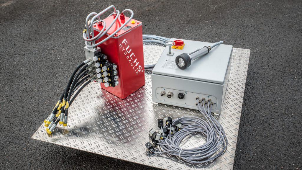 Wir unterstützen unsere Kunden mit der Konstruktion, der Entwicklung und Fertigung individueller hydraulischen Lösungen.